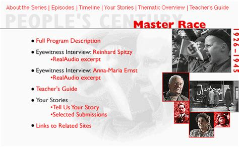 master race and other stories s century master race