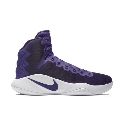 hyperdunk shoes for nike hyperdunk 2016 team s basketball shoe in purple