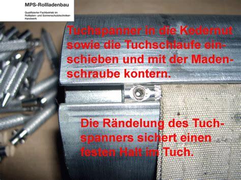 losberger markisen mps elektro rollladen shop tuchspanner torpedo zugband