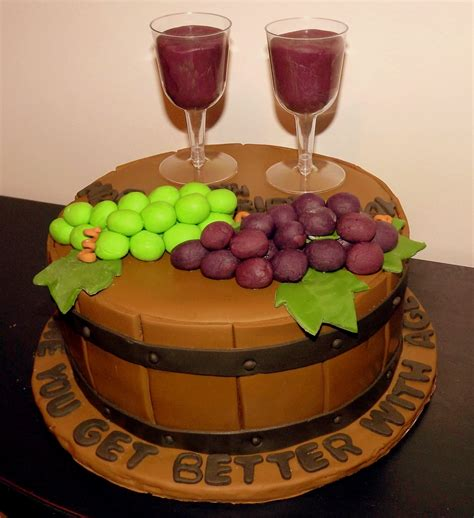 Wine Cake Cook Diary   Creative Ideas