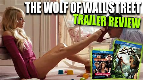 new blu ray movies youtube the wolf of wall street trailer review new blu ray