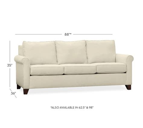cameron pottery barn sofa review cameron roll arm upholstered sofa everyday value