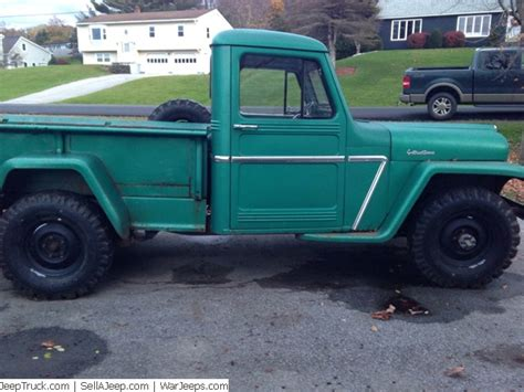 1961 Willys Jeep Truck Photo Copy