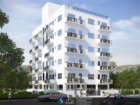 apartment images 3d architectural rendering of modern apartment building