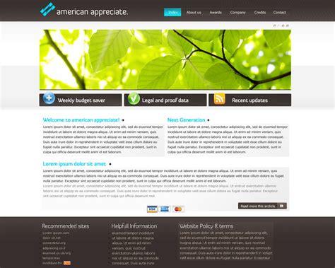 design inspiration corporate websites aa corporate website design by gwstyle on deviantart