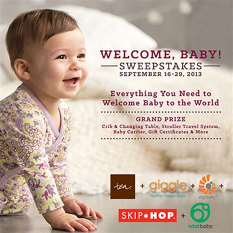 New Baby Sweepstakes - tea collection welcome baby sweepstakes momtrendsmomtrends