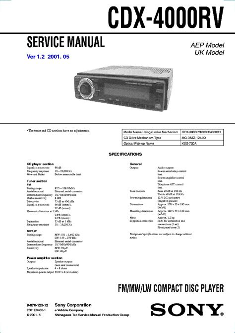 sony cdx l600x wiring diagram wiring diagram and