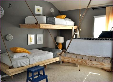 Bunk Beds For Small Rooms Diy Bunk Bed Designs Ideas For Small Rooms