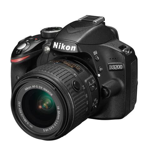 digital nikon d3200 nikon d3200 black digital slr and 18 55mm vr ii