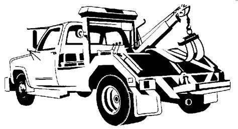 tow truck hook clipart clipart suggest