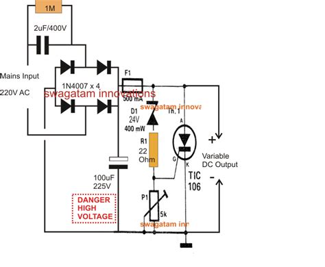 high voltage capacitor charge circuit high current dc power supply schematic high voltage capacitor charging discharging and simple