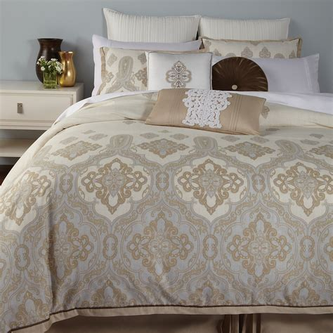 charisma bedding charisma marrakesh duvet cover king ivory blue