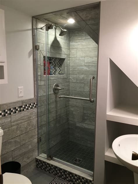 How Much To Build A Bathroom - the stairs shower small bathroom basement