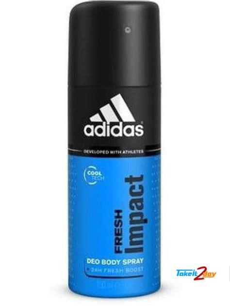 Parfum Adidas Deo Spray adidas fresh impact touch deodorant spray for 150