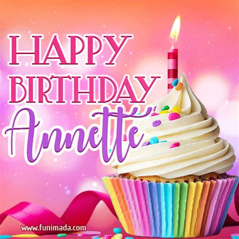 happy birthday annette lovely animated gif   funimadacom
