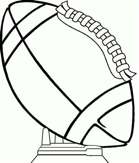 superbowl coloring page coloring book