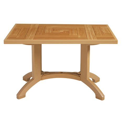 Atlantis Dining Table Grosfillex Ct645008 Resin Dining Table Atlantis