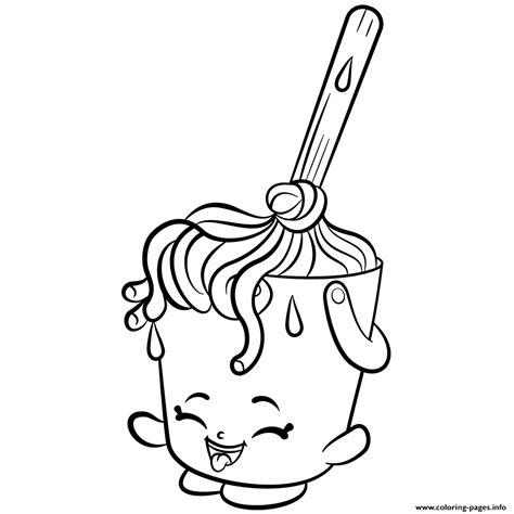 coloring pages of shopkins season 2 cleaning molly mops shopkins season 2 coloring pages printable