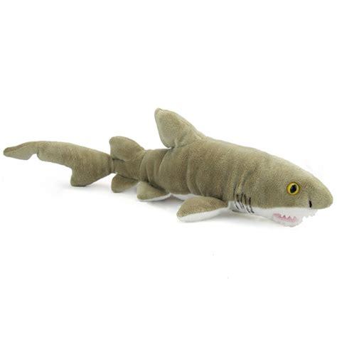 shark plush plush sand tiger shark 21 inch stuffed animal by wildlife artists