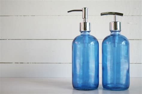 modern bathroom soap dispenser glass soap dispensers bath accessories modern