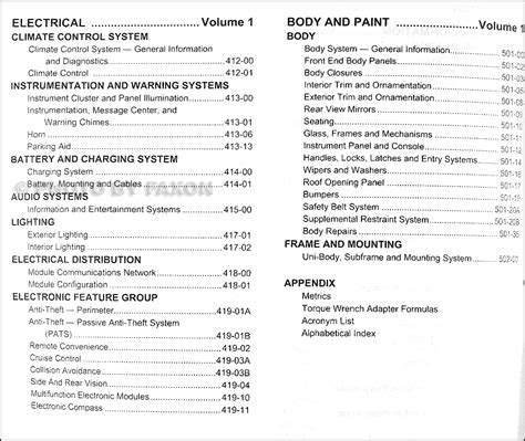 2003 ford taurus owners manual pdf service manual pdf 2010 ford taurus transmission service repair manuals 2003 ford taurus