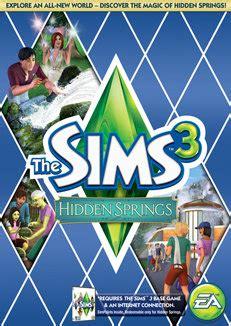 sims  hidden springs  pcmac