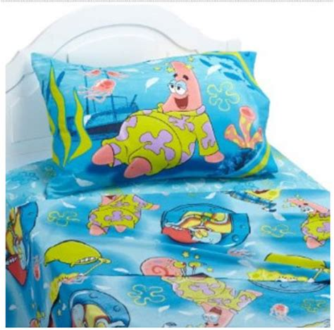Spongebob Crib Set by Spongebob Squarepants Bedding Sheet Set Pajama