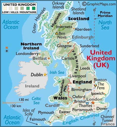 uk map map of uk united kingdom world map united kingdom large color map