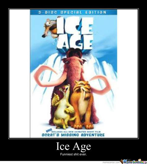 ice age poster by rekanamber meme center