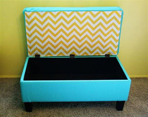 1000 Images About Bench Makeover On Pinterest Ottoman How To Reupholster A Storage Ottoman