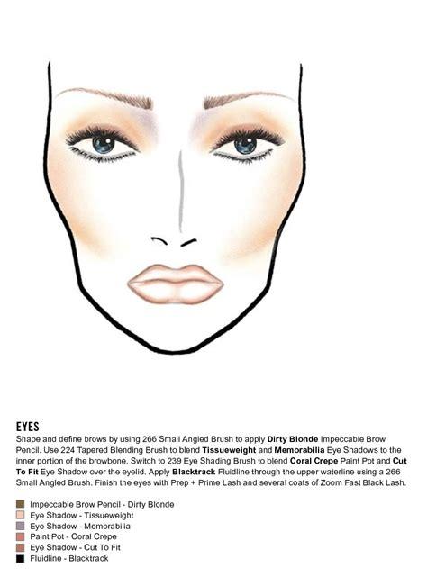 makeup face charts mac pro bible cosmetics manual training dvd cd  ebay