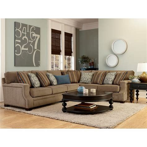 broyhill veronica sectional sofa 8 best flexsteel images on pinterest home furniture