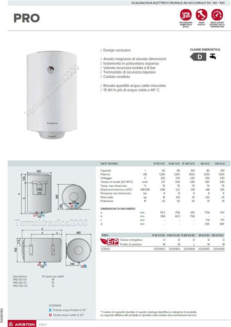 Water Heater Ariston Kapasitas 100 Liter Electric Water Heaters Horizontal 80 Liters Ariston Pro Eu Ebay