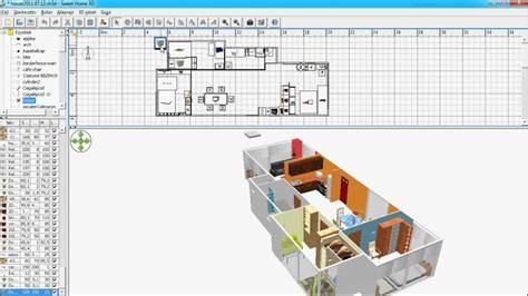 sweet home 3d floor plans sweet home 3d floor construction youtube
