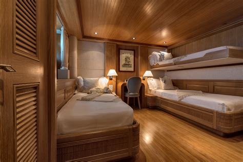 Pullman Cabin by Luxury Yacht Charter Guest Cabin With Pullman