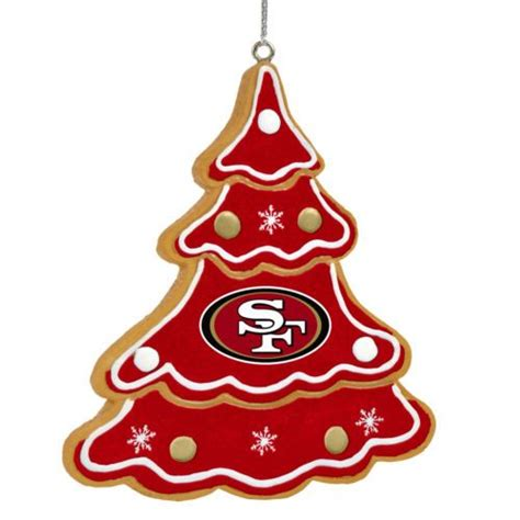 san francisco 49ers gingerbread tree christmas tree xmas