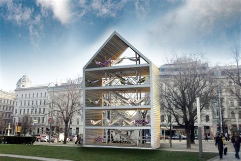Architecture To Travel For Vienna S Flederhaus Hammock City Spot Cool Stuff Travel