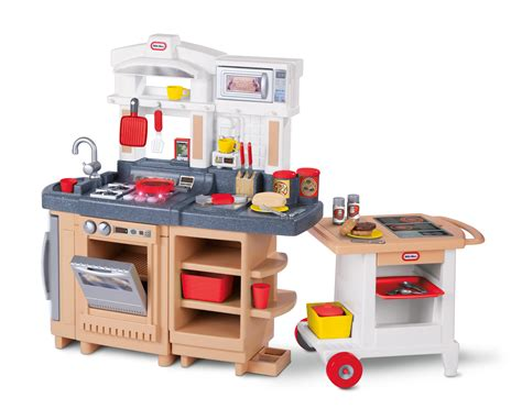 Little Tikes Cook Around Kitchen Cart Ojcommerce Tikes Kitchen Set