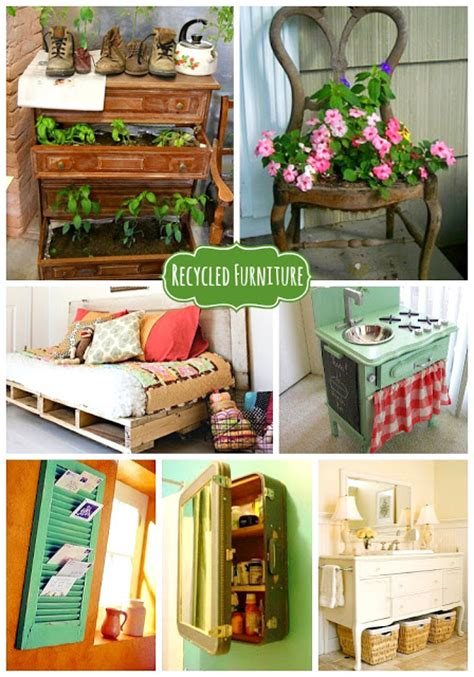 Recycled Furniture Ideas not shabby consigments happy earth day recycled