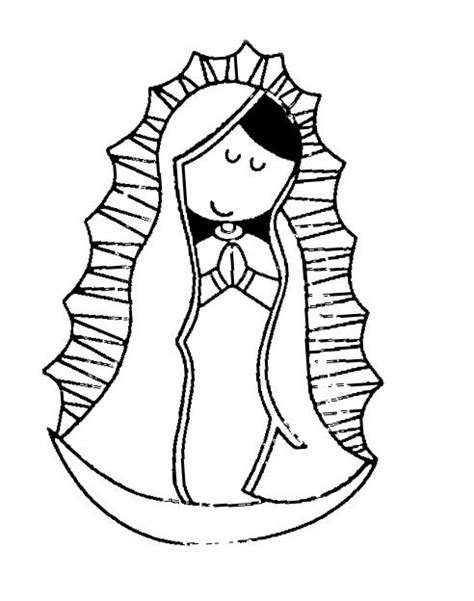 virgen de guadalupe coloring pages az coloring pages