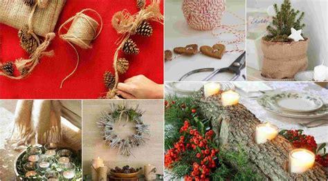 christmas decoration ideas  natural materials