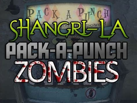 zombie solo tutorial shangri la zombies how to pack a punch solo tutorial