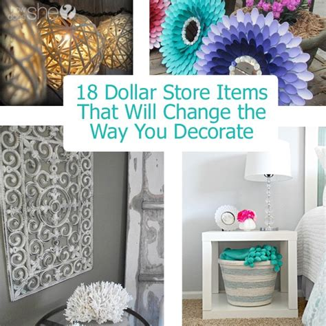 dollar store home decor 18 dollar store items that will change the way you