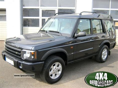 motor repair manual 2005 land rover discovery parking system 2005 land rover discovery td5 entertainer top equipment car photo and specs