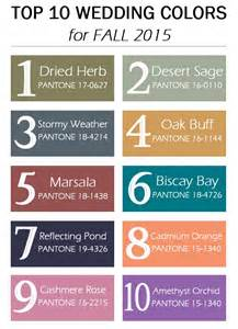 fall colors for 2015 wedding colors for fall 2016 2017 fashion trends 2016 2017