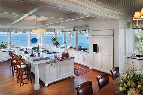view kitchen designs visual treat 20 captivating kitchens with an ocean view