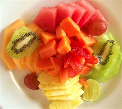 fruit fast fast fruit plate