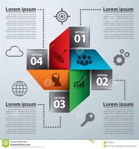 web design leaflet modern banner infographic stock vector image of layout