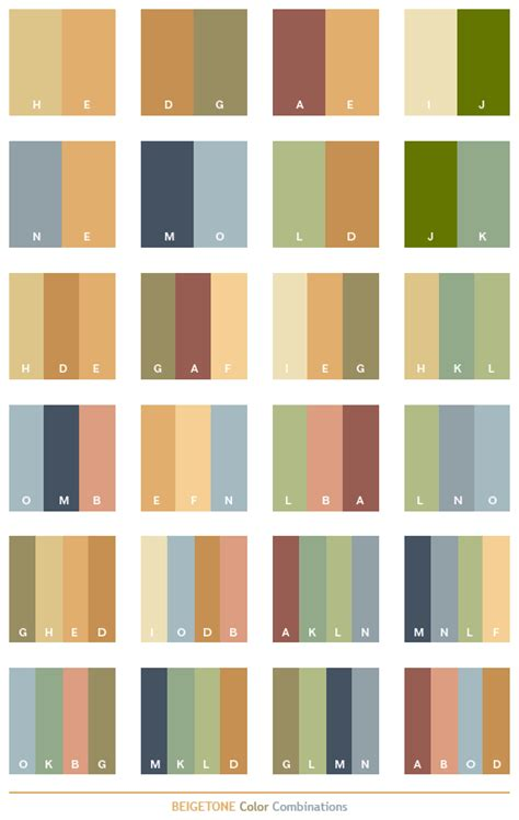 beige tone color schemes color combinations color palettes for print cmyk and web rgb html