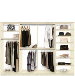 Closet System Accessories Isa Custom Closet System Xl For Large Closets Walk In Or